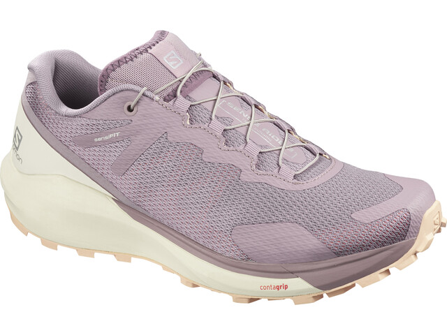 Salomon Sense Ride 3 Shoes Women, quail/vanilla ice/bellini